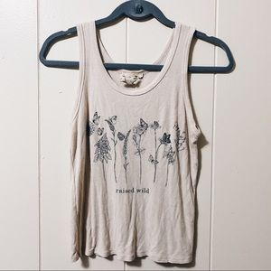 Floral Graphic Tank